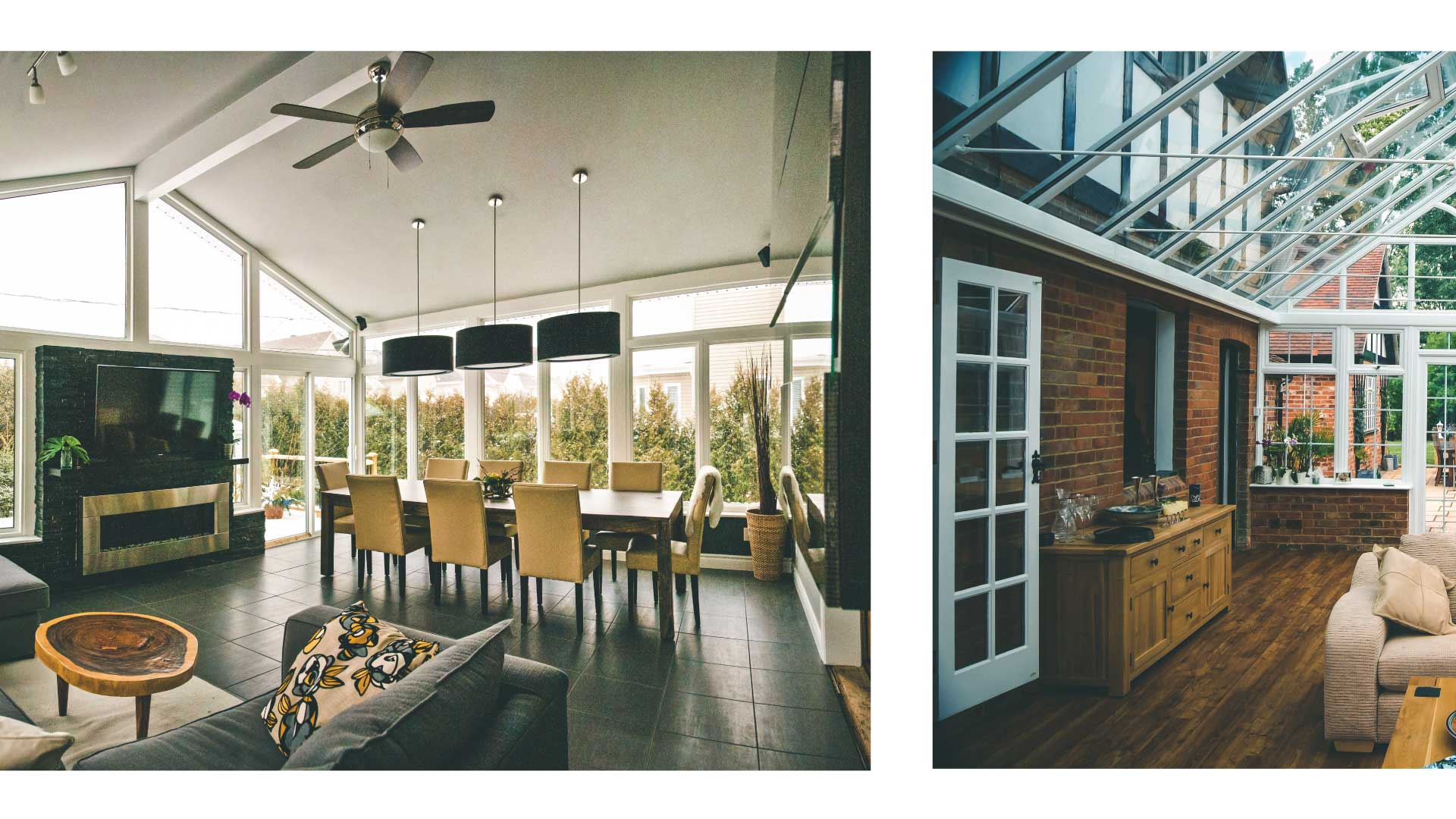 3 differences between a conservatory and a sunroom