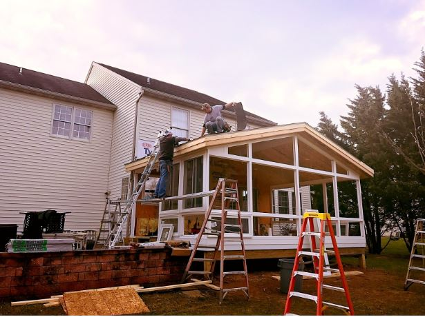 building a sunroom