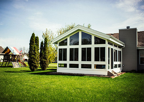 enclosed sunroom