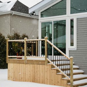 Converting your deck into a sunroom
