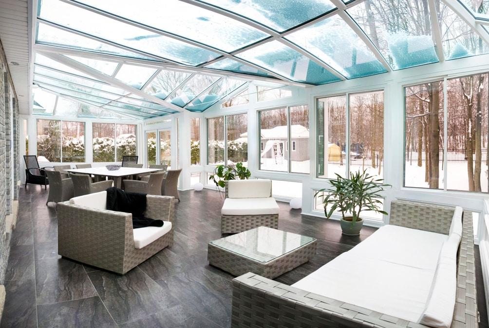 sunroom addition energy efficient