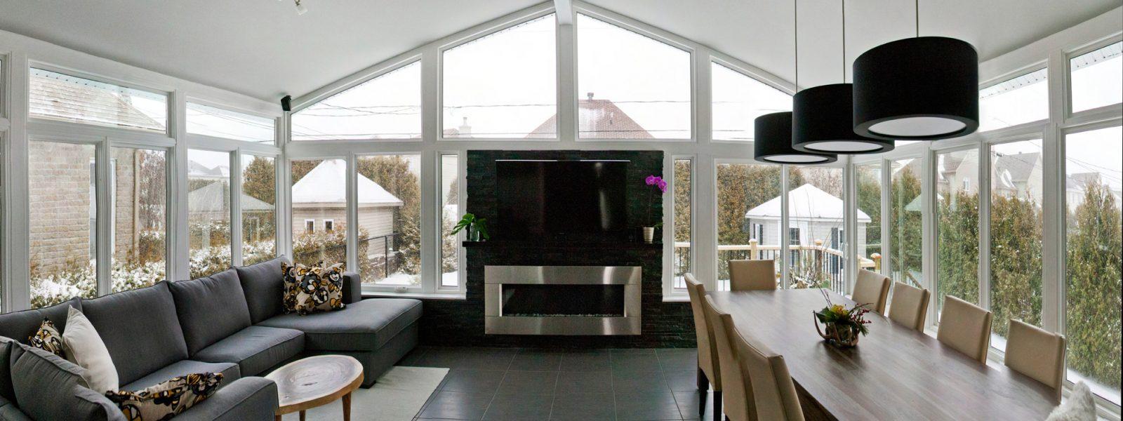 sunroom television room interior design
